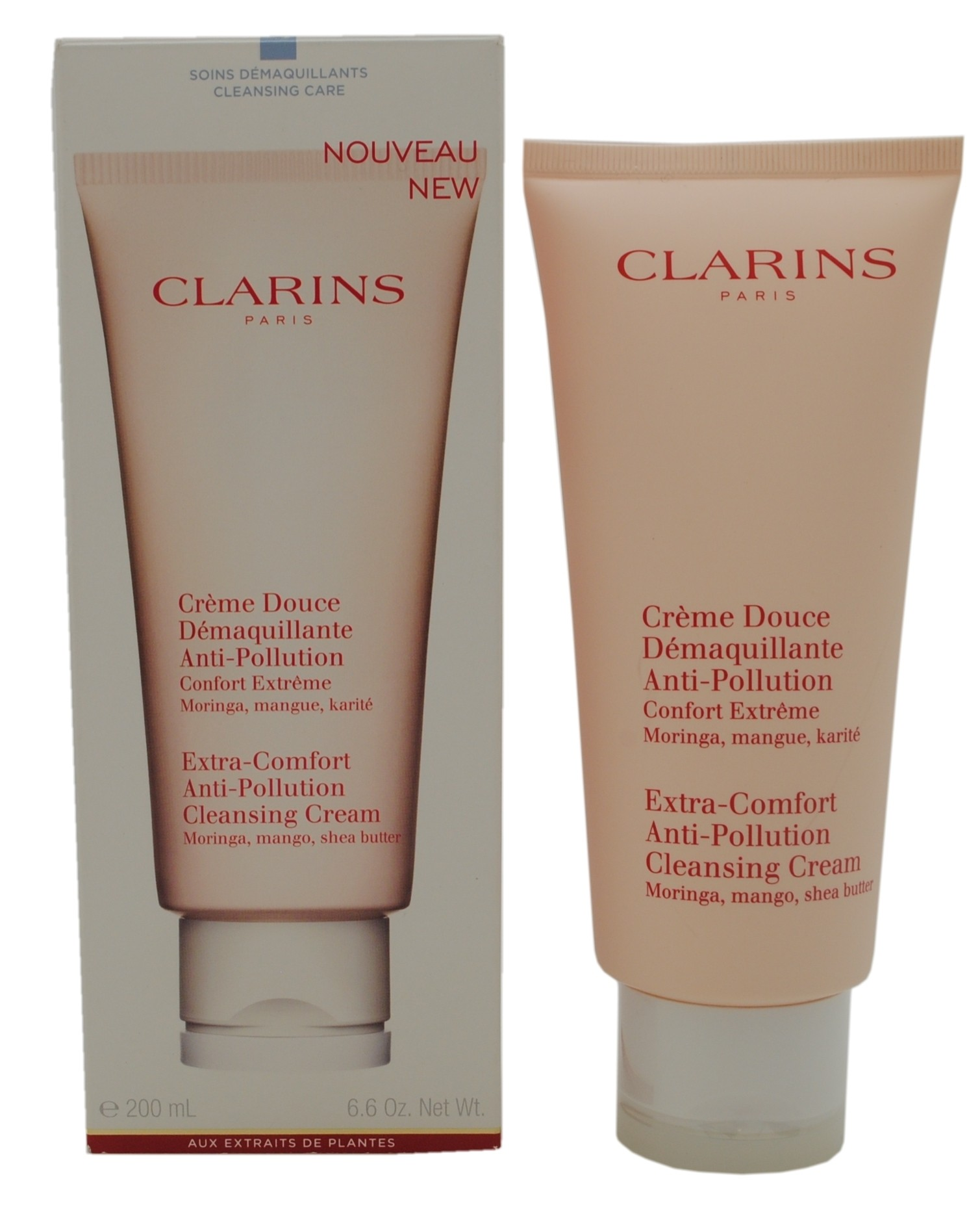 Clarin's Extra-Comfort Anti-Pollution Cleansing Cream