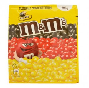 Mars, M&M's Peanut Football Special Edition