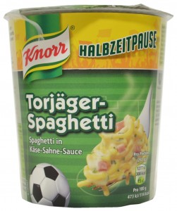 Knorr, Half-time Break