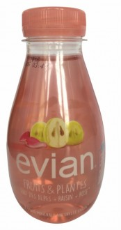Evian Fruits & Plantes Grape and Rose Flavoured Alpine Water