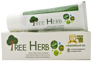 Tree Herb, Natural Herbal Extract Toothpaste