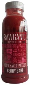 Rawganic Revolution 100% Cold-Pressed Berry Babe Juice