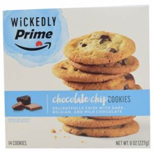 Wickedly Prime Chocolate Chip Cookies