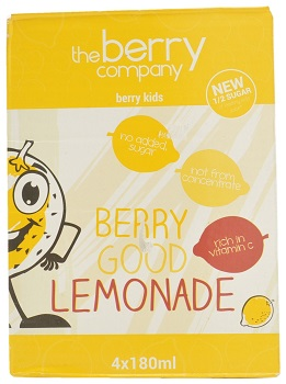 The Berry Company, Berry Kids Berry Good Lemonade Drink, Philippines