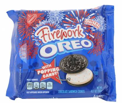 Nabisco, Firework Popping Candy Oreos, US