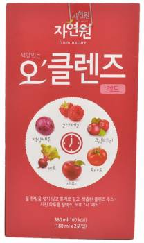 Jayeonone O'Cleanse, Red Cleanse Juice, South Korea